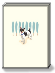 DogPride Box Note Cards Rat Terrier