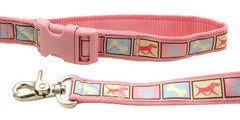 Dog Motif Pastel Wide Collar M Pastel