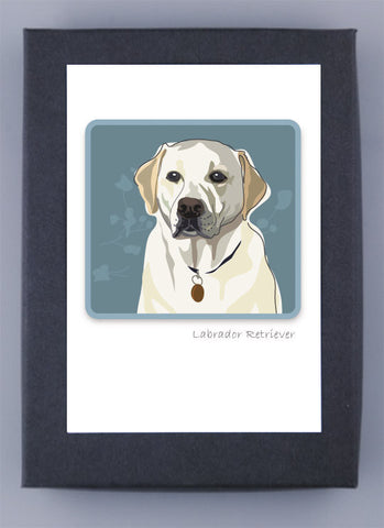 Paper Russells Boxed Note Cards - Labrador Retriever