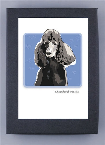 Apricot Poodle Boxed Note Cards