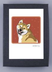 Shiba Inu Boxed Note Cards