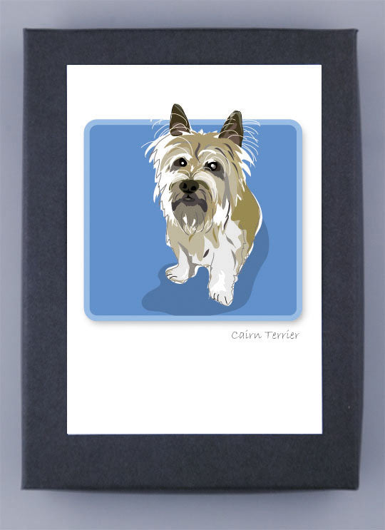 Cairn Terrier Boxed Note Cards