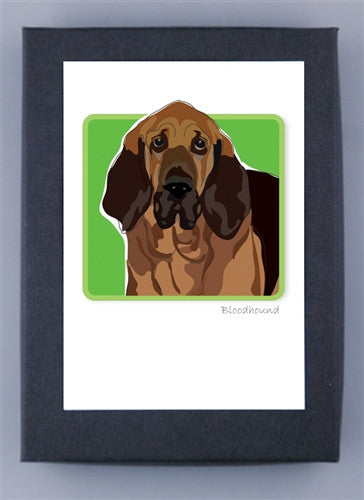 Bloodhound Boxed Note Cards