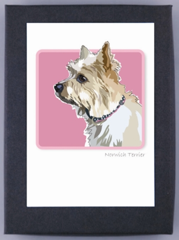 Norwich Terrier Boxed Note Cards