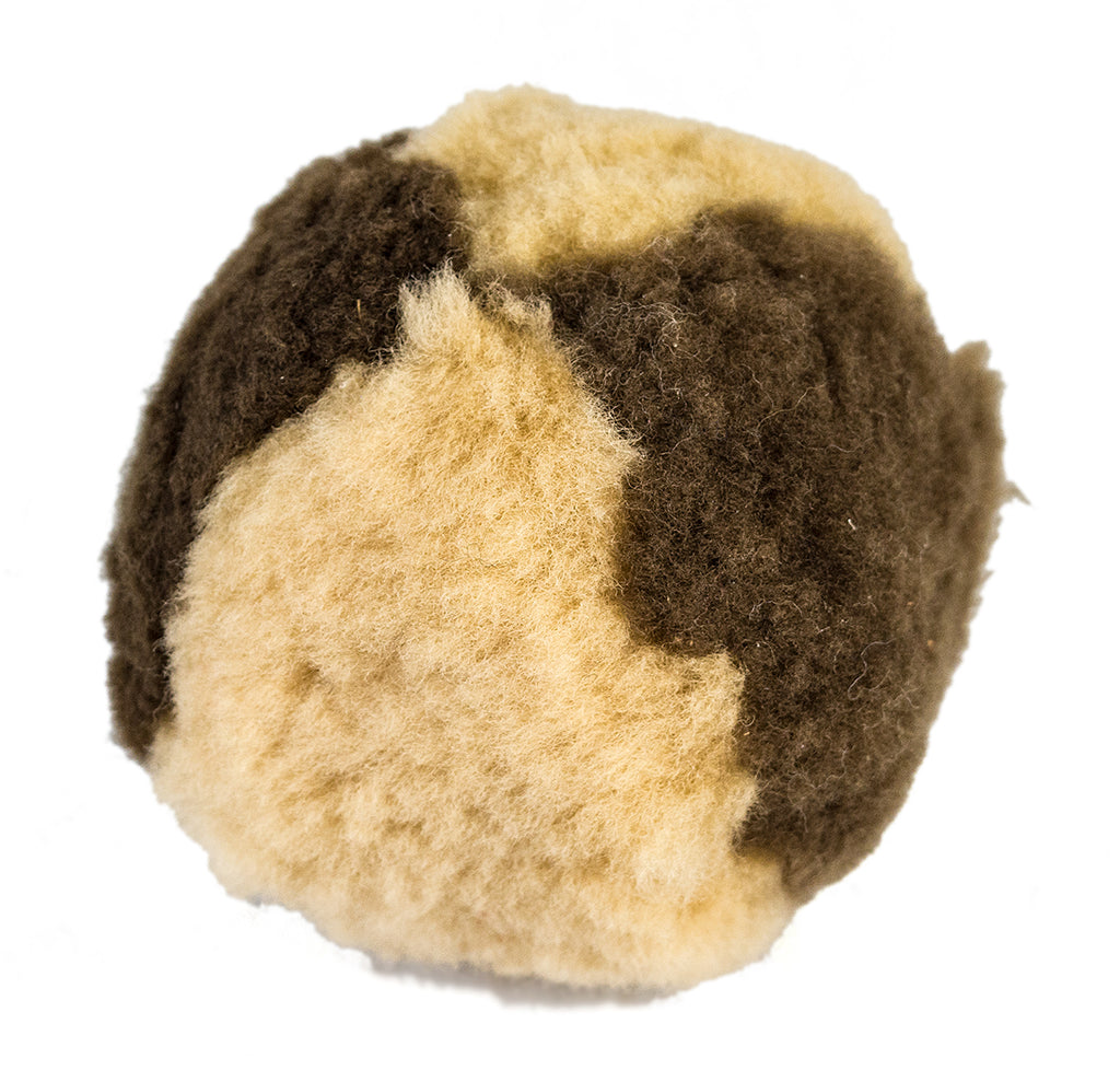 Woolly Good Pet Medium Ball Natural/Brown