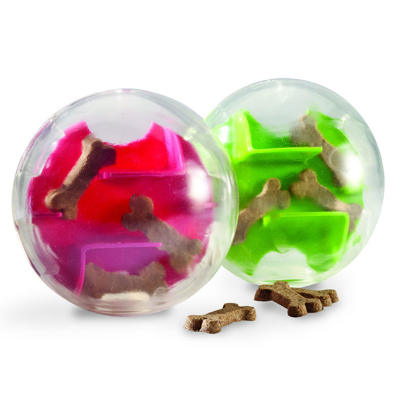 planet dog orbee-tuff mazee treat ball