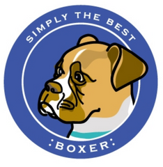Simply the Best Car Magnet Boxer (Tan)