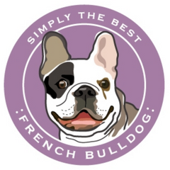 Simply the Best Car Magnet French Bulldog