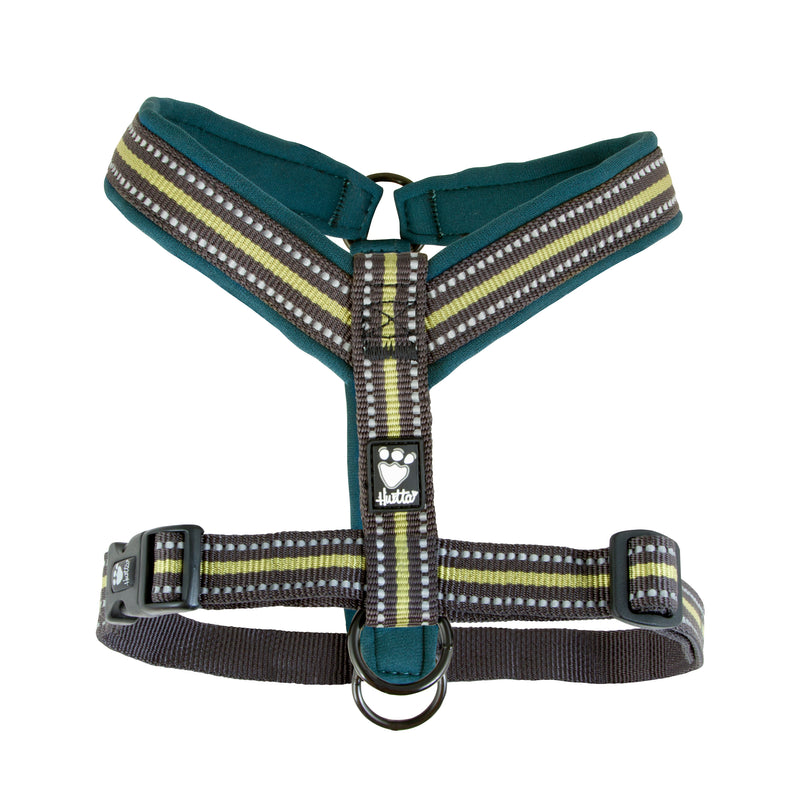 Hurtta Padded Y-Harness 2 Cherry