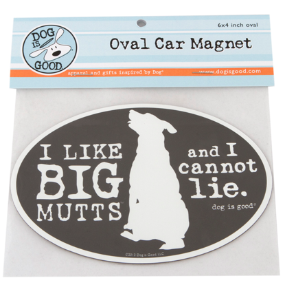Car Magnet: I Like Big Mutts