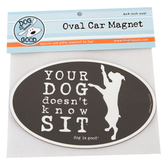 Car Magnet: Doesn't Know Sit