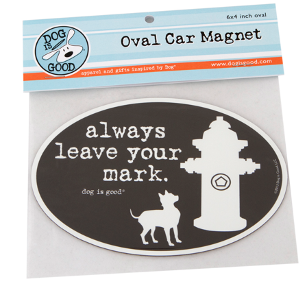Car Magnet: Leave Your Mark