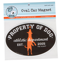 Car Magnet: Property of Dog
