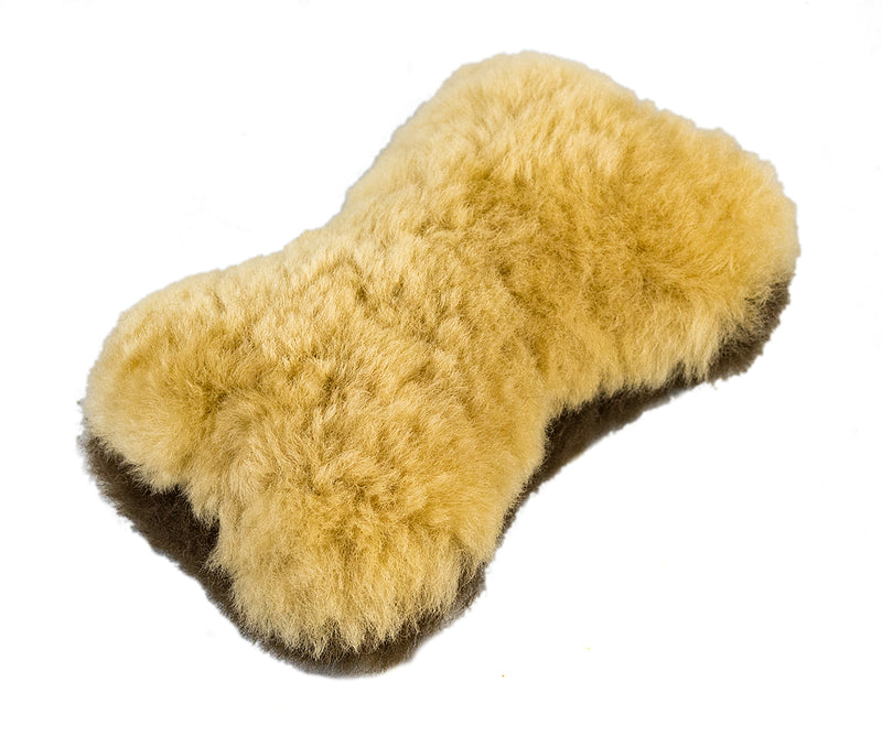 Woolly Good Pet Small Bone Natural/Brown