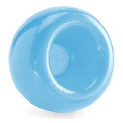 planet dog orbee-tuff snoop treat ball blue