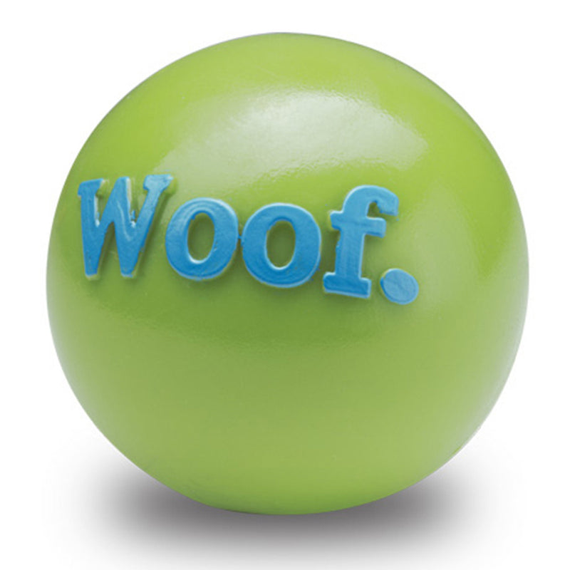 planet dog orbee-tuff woof ball pink