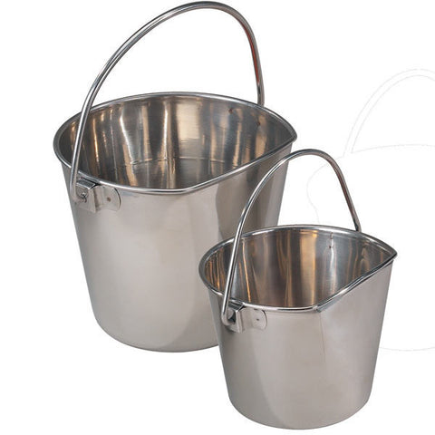 ProSelect Stainless Steel Flat-sided Pails