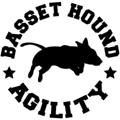 Basset Hound Agility Decal
