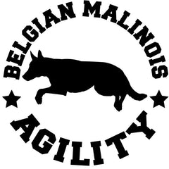 Belgian Malinois Agility Decal