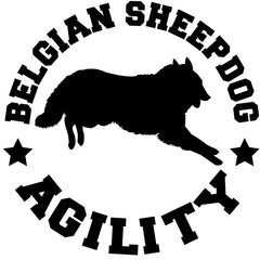Belgian Sheepdog Agiltiy Decal