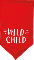 Wild Child Pet Bandana