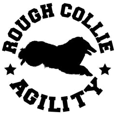 Collie Agility Decal