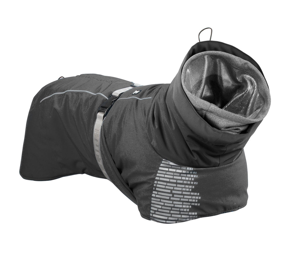 Hurtta Extreme Warmer Winter Dog Coat in Granite