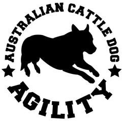 Australian Cattle Dog Agility Decal