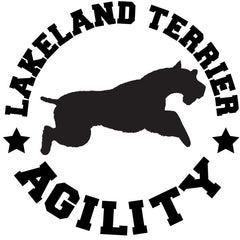 Lakeland Terrier Agility Decal