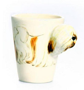 Blue Witch Dog Mugs