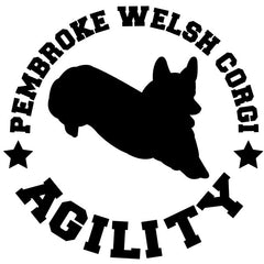 Pembroke Welsh Corgi Agility Decal