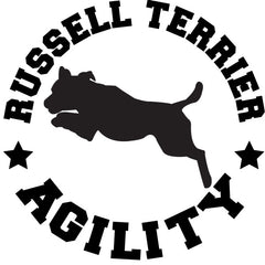Russell Terrier Agility Decal
