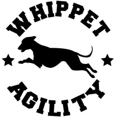 Whippet Agility Decal