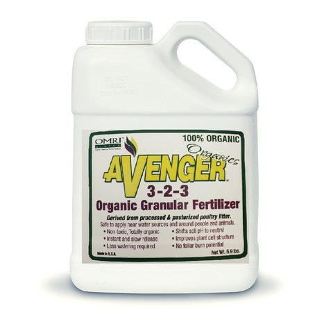 Avenger® | Organic Granular Fertilizer | Ready-To-Use | 5.9 lbs.