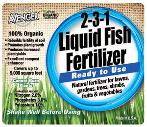 Load image into Gallery viewer, Avenger® | Liquid Fish Fertilizer | Hose Spray | 32 oz.