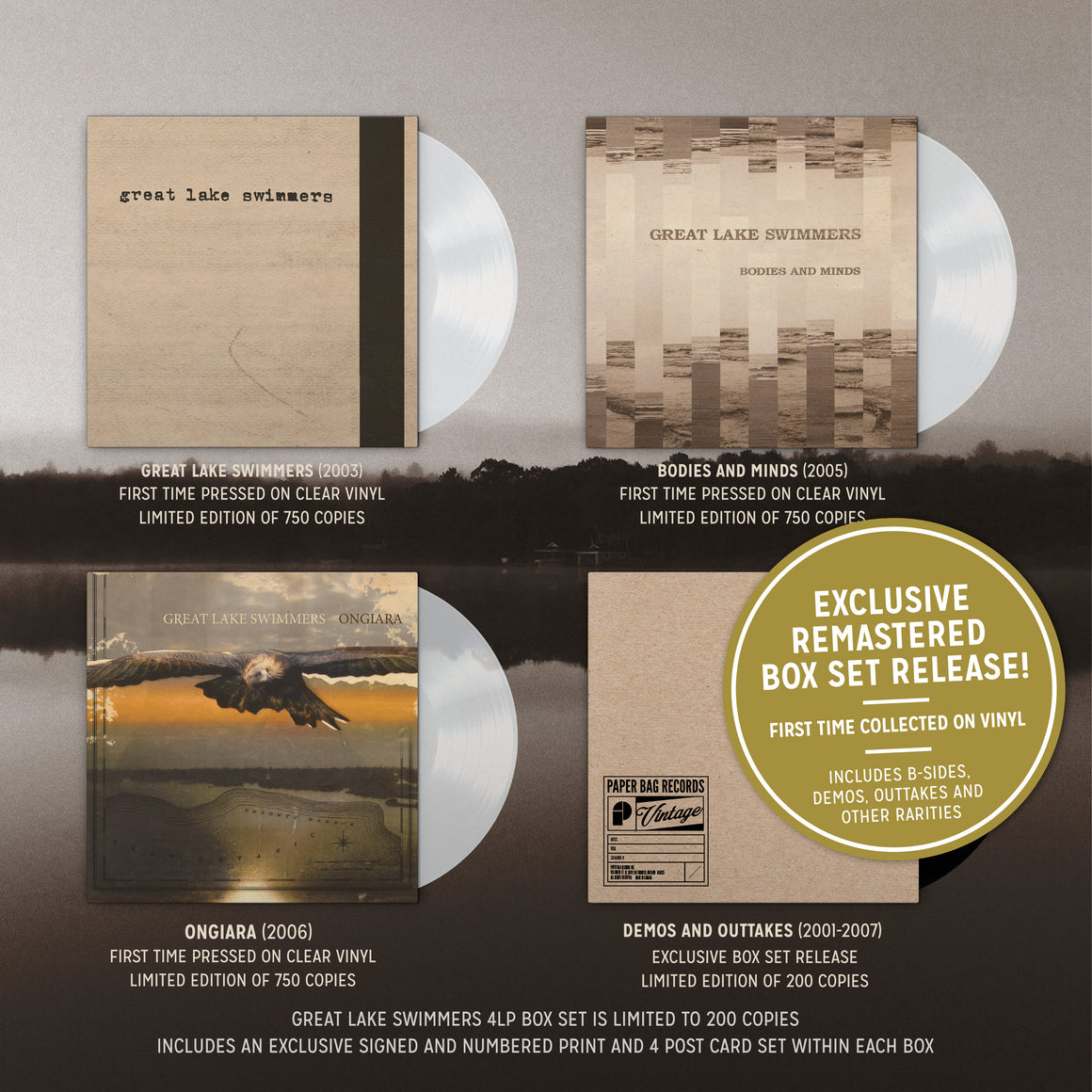 Great Lake Swimmers Box Set