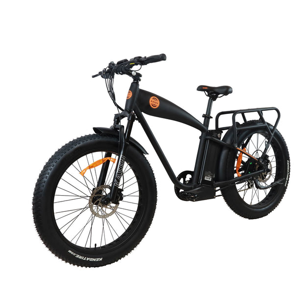K6 1000 watt rear drive cruiser ebike electric bike product angle 1