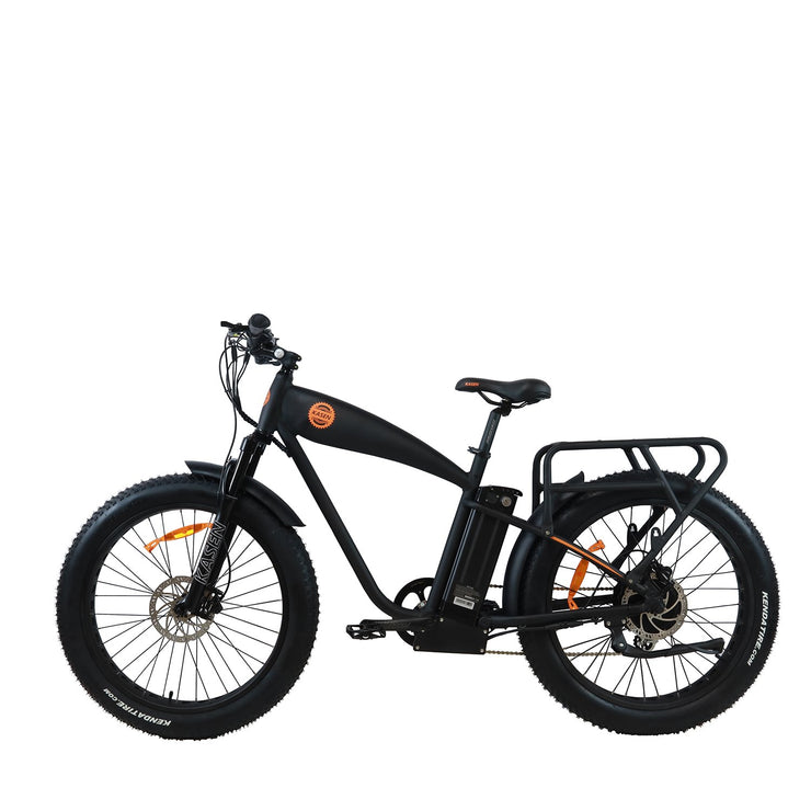 K6 1000 watt rear drive cruiser ebike electric bike product