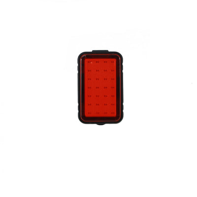 rear reflector light red flashing