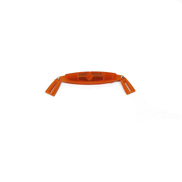 Orange Reflector for Bike Rim