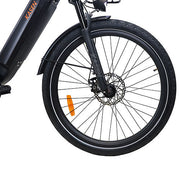 Kasen City Electric Bike Step Thru City Bike Rear Drive 27""