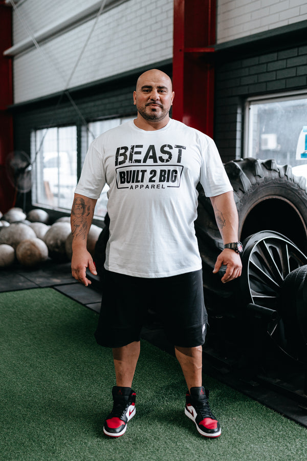 *NEW* Built 2 Big Apparel BEAST T-Shirt