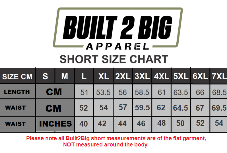 *NEW* Built2Big Shorts