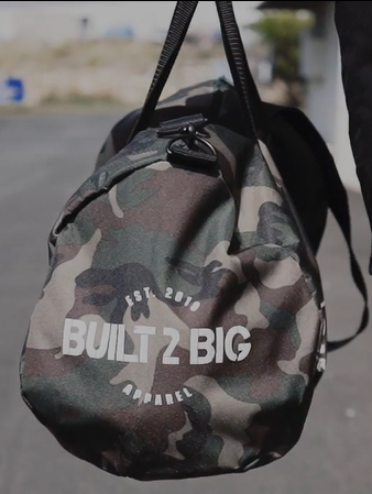 Built 2 Big Duffel Bag