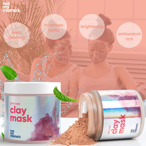 clear skin teen mask natural clay face