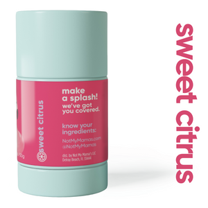 Sweet Citrus Deodorant for Teens - Not My Mama's
