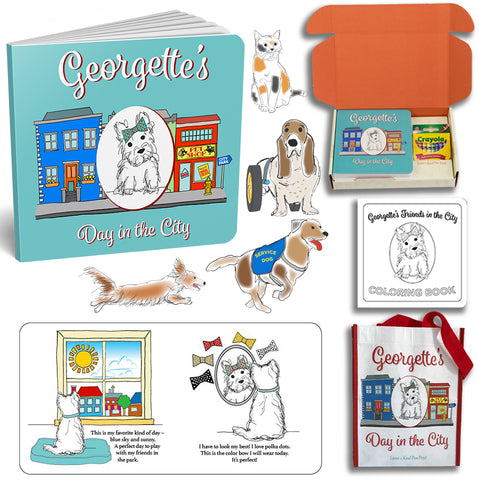 Georgette's Day in the City Activity Gift Set