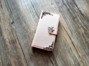 Alice in wonderland rabbit phone leather wallet removable case cover for Apple / Samsung MN1176-icasecollections