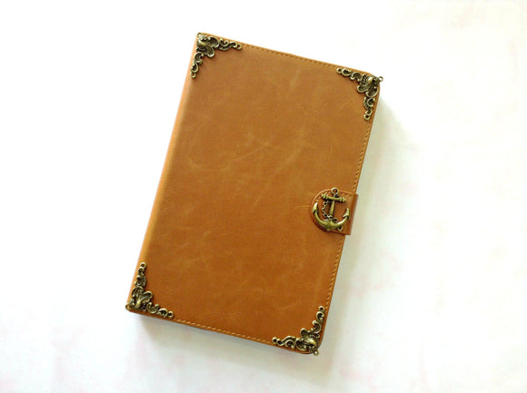 Anchor iPad handmade leather stand case for Apple MN0302-icasecollections