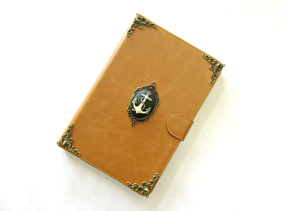 Anchor iPad handmade leather stand case for Apple MN0308-icasecollections